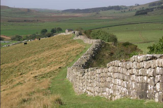 Wandelen in Hadrians Wall
