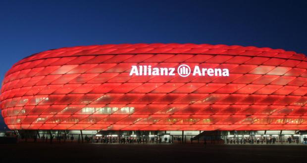 bayern munchen stadion allianz arena