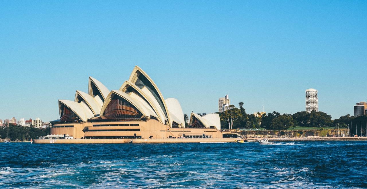 Het Opera House in Sidney Australie