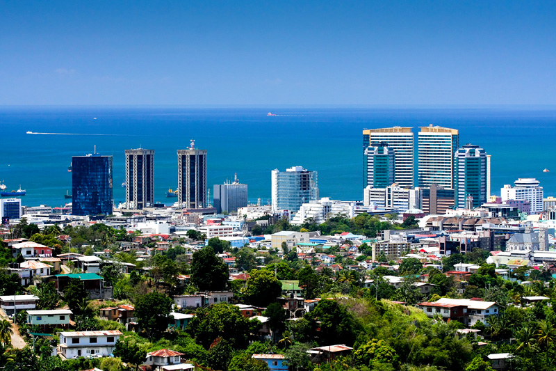 beachline in Trinidad