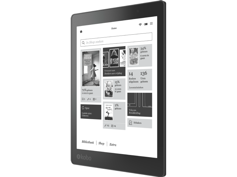 e-reader voor op vakantie