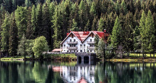 een vakantiehuisje in Europa