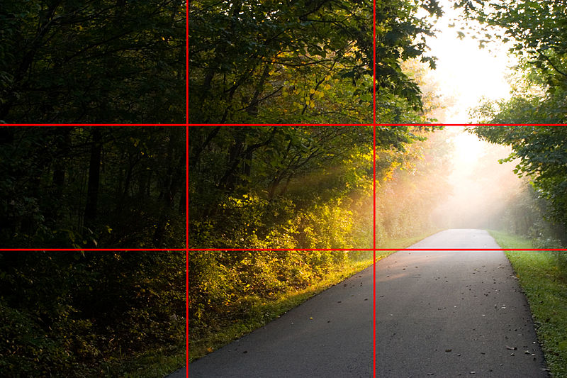 de regel van derden in fotografie