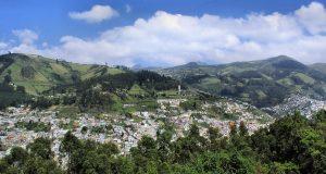 Het land Ecuador om naar te reizen