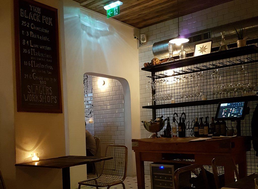 dineren bij the black fox nijmegen