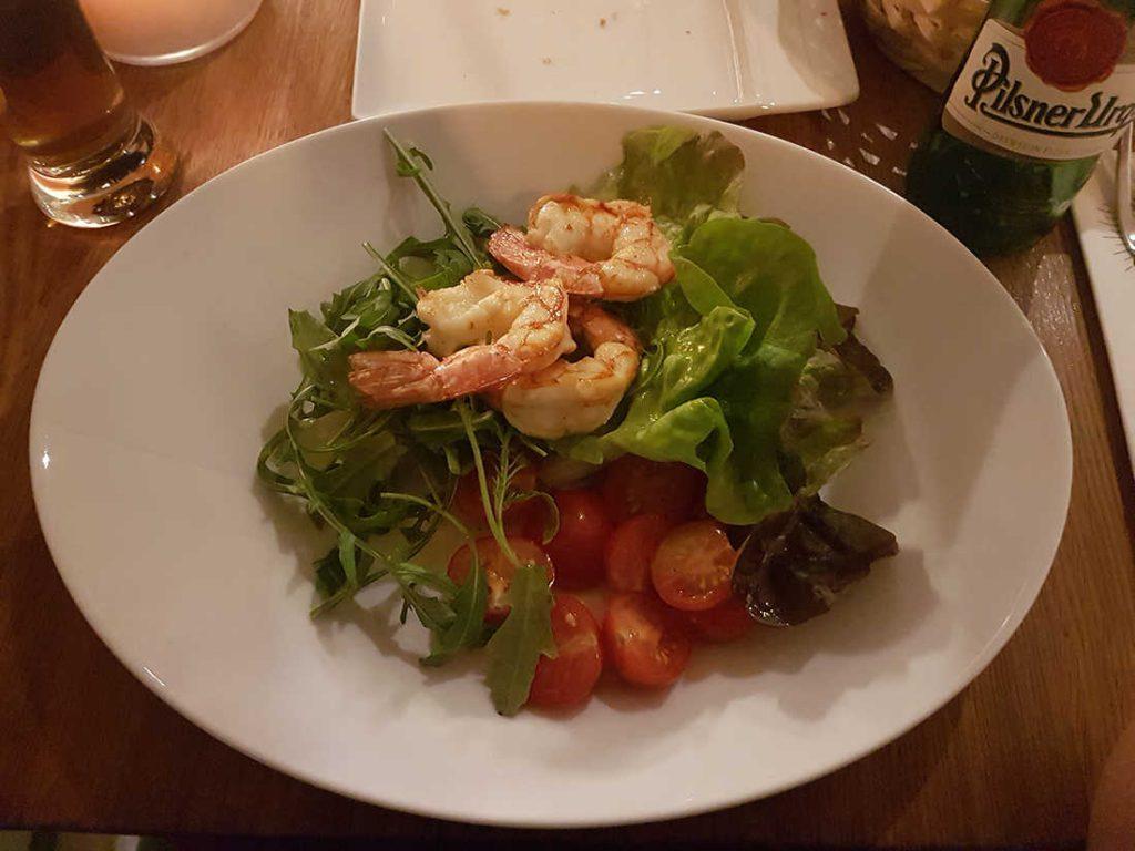restaurants-in-praag-voorgerecht-salade