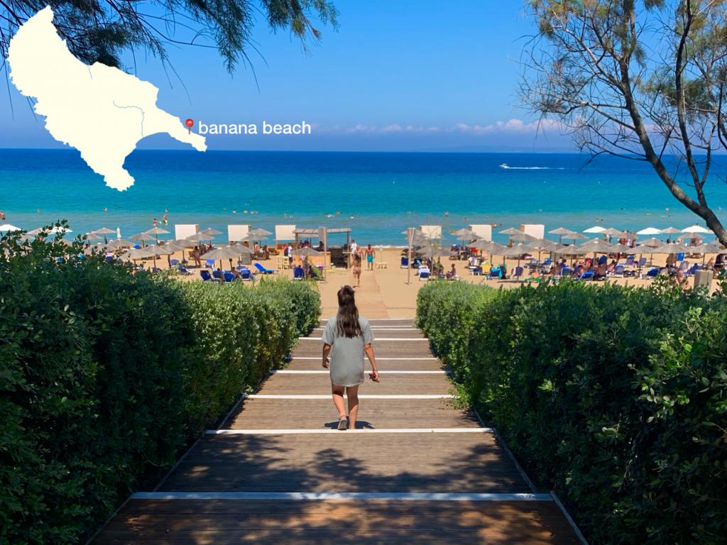 strand banana beach Zakynthos