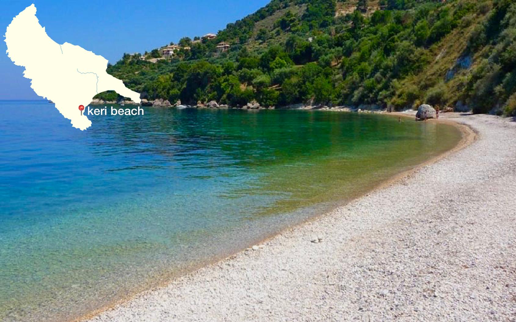 Stranden Keri Zakynthos