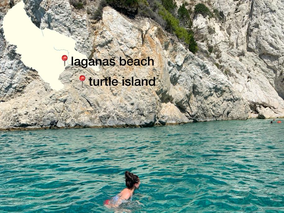 schildpadden eiland Zakynthos