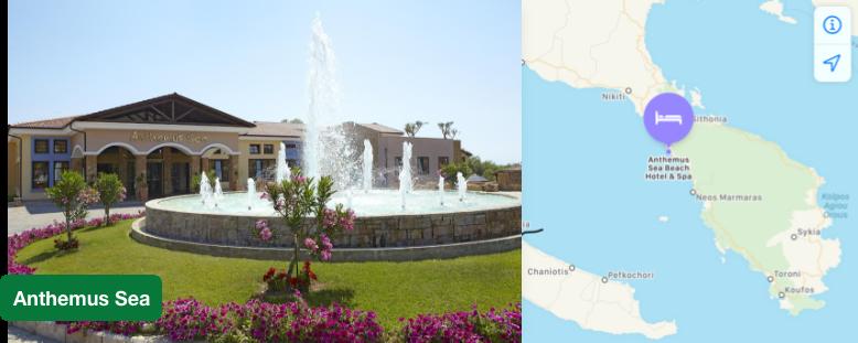 Resort in Elia Sithonia